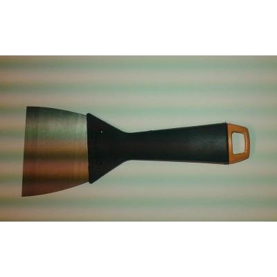"Spatula 95"", polyamid handle, metal scraper"